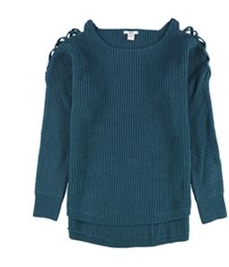 bar III Womens High-Low Knit Sweater
