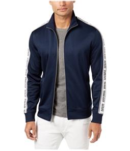 I-N-C Mens Travel Track Jacket Sweatshirt