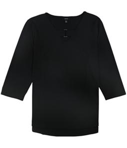 Alfani Womens Keyhole Pullover Blouse
