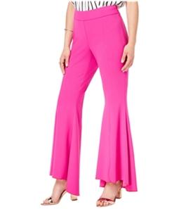 I-N-C Womens Flare Casual Trouser Pants