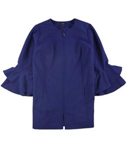 Alfani Womens Ruffle Sleeve Jacket