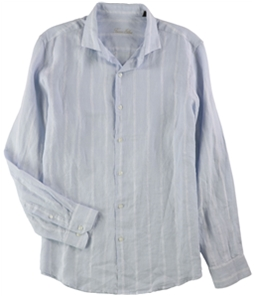 Tasso Elba Mens Boucle Button Up Shirt