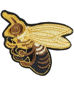 I-N-C Unisex Bee Decorative Sewing Patch