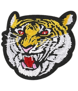 I-N-C Unisex Tiger Decorative Sewing Patch