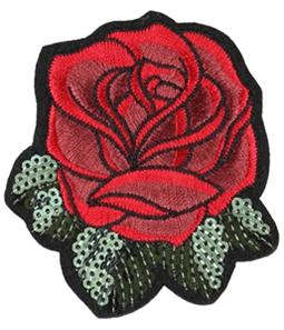 I-N-C Unisex Rose Decorative Sewing Patch
