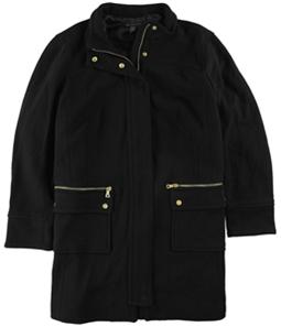 I-N-C Womens Collared Coat