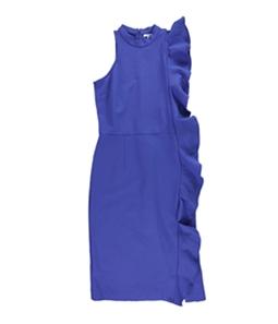 bar III Womens Ponte-Knit Sheath Dress