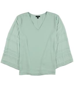 Alfani Womens Layered Sleeve Pullover Blouse