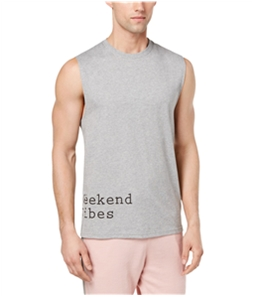 bar III Mens Weekend Vibes Pajama Tank Top