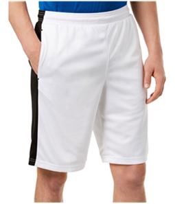Ideology Mens Side Stripe Athletic Workout Shorts