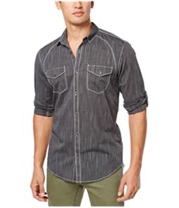 I-N-C Mens Vera Button Up Shirt
