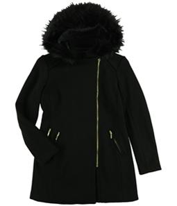 I-N-C Womens Textured Coat