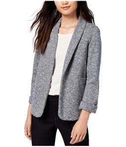 maison Jules Womens Marled Knit Blazer Jacket