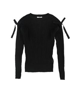bar III Womens Ribbed Knit Sweater