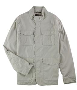 Tasso Elba Mens Multi-Pocket Windbreaker Jacket
