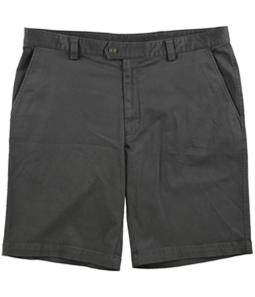 Tasso Elba Mens Twill Stretch Casual Chino Shorts