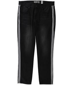 I-N-C Mens Striped Skinny Fit Jeans