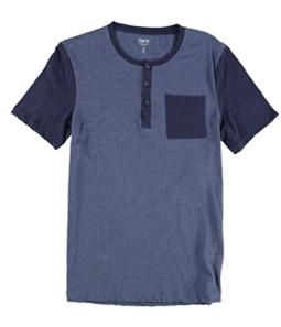 bar III Mens Colorblocked Pajama Sleep T-shirt