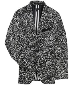 I-N-C Mens Morse Two Button Blazer Jacket