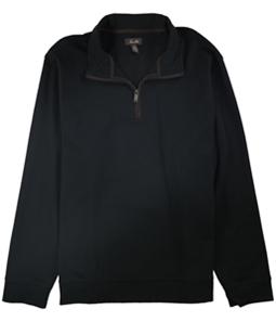 Tasso Elba Mens Piped 1/4 Zip Pullover Sweater
