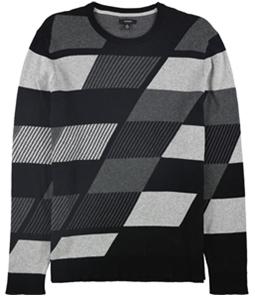 Alfani Mens Abstract Color Block Pullover Sweater