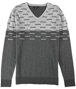 Alfani Mens Colorblocked Dash Pullover Sweater