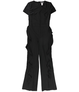 bar III Womens Ruffle Pant Jumpsuit