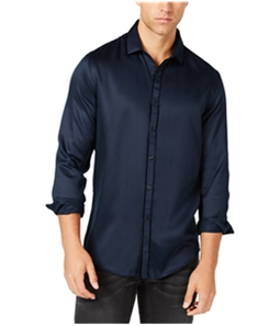 I-N-C Mens Party Pajama Button Up Shirt