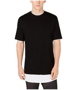 I-N-C Mens Colorblocked Basic T-Shirt