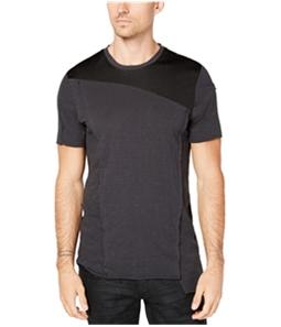 I-N-C Mens Marled Knit Basic T-Shirt