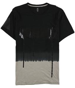 I-N-C Mens Foil Graphic T-Shirt