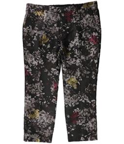 I-N-C Mens Metallic Floral Casual Trouser Pants