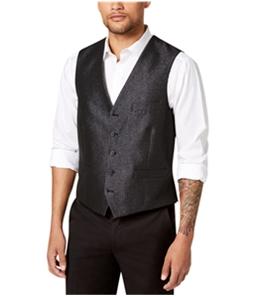 I-N-C Mens Embellished Five Button Vest