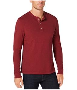 Club Room Mens Garment Dye Henley Shirt