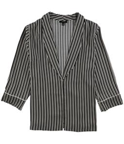 Alfani Womens Striped Jacket
