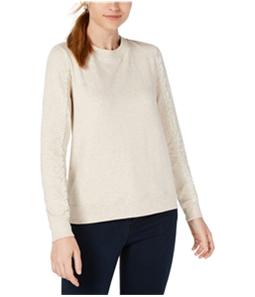 maison Jules Womens Lace Trim Sweatshirt