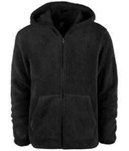 Ideology Mens Full Zip Fleece Hoodie Sweatshirt