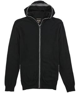 Tasso Elba Mens Zip Front Hoodie Sweatshirt