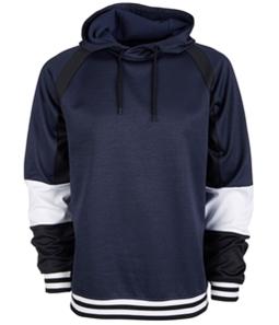 Ideology Mens Colorblocked Tech Fleece Hoodie Sweatshirt