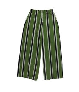 bar III Womens Striped Casual Wide Leg Pants
