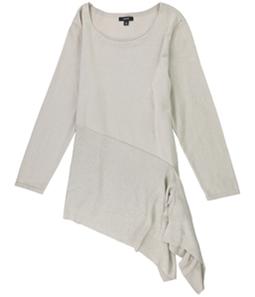 Alfani Womens Asymmetrical Pullover Sweater