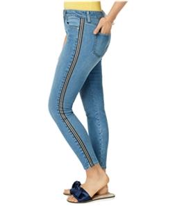 maison Jules Womens Racer Stripe Skinny Fit Jeans