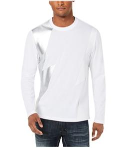 I-N-C Mens Lightning Basic T-Shirt