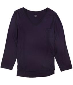Alfani Womens Solid Pajama Sleep T-shirt