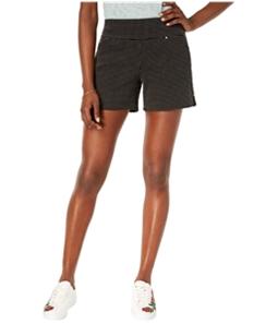 I-N-C Womens Connect the Dot Casual Bermuda Shorts