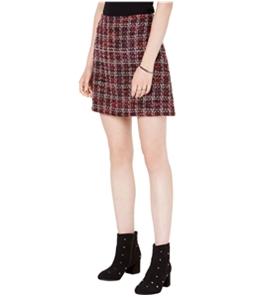 maison Jules Womens Tweed Mini Skirt