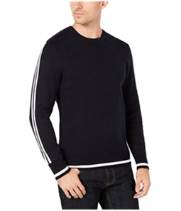 I-N-C Mens Striped Pullover Sweater