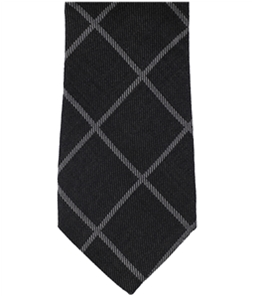 Tasso Elba Mens Parisi Grid Self-tied Necktie