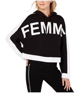 bar III Womens Cropped Hoodie Sweatshirt