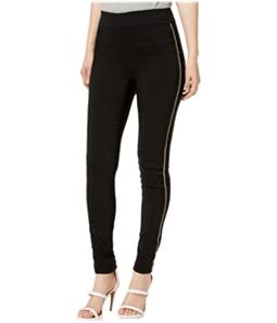 I-N-C Womens Satin Stripe Casual Leggings